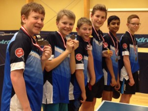 Guld, Sølv og bronze ved 2-mands holdstævne i Allerød