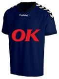 Klubtrøje med OK logo Hummel-stay-authentic-Jersey